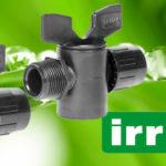 Zöld karos műanyag hengeres csap 16-16 Tok-Tok Lpe