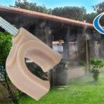Orbit teraszhűtő csőrögzítő klipsz, kampó