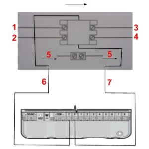 Hunter PSR-22 szivattyúindító relé elektromos bekötése