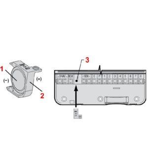 Öntözőrendszer vezérlő automatika elemcsere