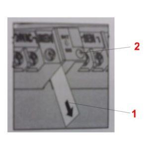 Öntözésvezérlő automatika programtartó elem üzembehelyezése