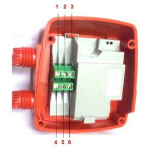 Pedrollo Easy Small / Easy Press áramláskapcsoló elektromos bekötése