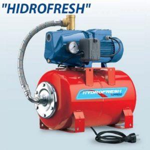 HIDROFRESH JSWm/15MX-60CL PSG-1M Házi vízellátó rendszer 60 literes hengeres tartállyal