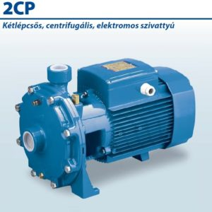 2CP 40/200B 380-400/660-690/50 Kétlépcsős, centrifugális, elektromos szivattyú