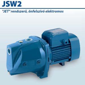 JSWm/15MX 220-230/50 Jet rendszerű önfelszívó elektromos szivattyú