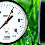 Nyomásmérő óra 1/4″KM 0-10Bár/ hátsó bekötésű