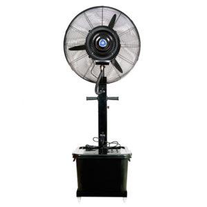 Mobil párásító, párahűtő ventilátor víztartállyal 26col/65cm
