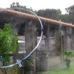 """Nagynyomású ködhűtő gyűrű 8 fúvókás 510mm 1/4""""x10/24 BM-BM 70bár"""