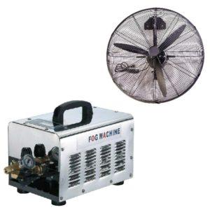 Nagynyomású ventilátoros párásító rendszer 70bár