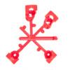K-Rain Mini-Pro rotoros szórófej fúvókakészlet
