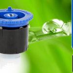 K-Rain KVF-HE-10 Állítható Spray Fúvóka / 0-360Fok / 3m
