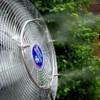 Tecnocooling Evolution Teraszhűtés, kültéri klíma 10 párásító ventilátorral