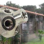 Nagy nyomású párásító fej 5 teraszhűtő fúvókához 10/24″ KB / 70 bár