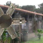 Nagy nyomású párásító fej 6 teraszhűtő fúvókához 10/24″ KB / 70 bár