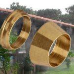3/8″ Col Réz Gyűrű Szett Kulcsos Párásító, Teraszhűtő Idomhoz