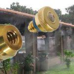 Réz szűkítő betét, csatlakozó adapter teraszhűtő fúvókához 1/8″-10/24″ KB