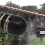 Nagy nyomású teraszhűtő, párásító fúvóka alkatrészek