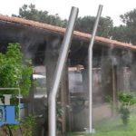 Kárpát-Cool Páraoszlop 6 Kültéri Hűtő, Párásító Fúvókával